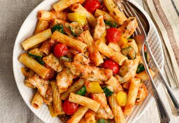 Slimming World Chicken & Mediterranean Vegetable Pasta