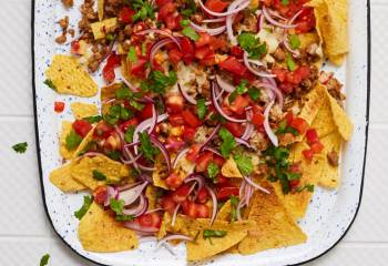 Honey And Lime Pork Nachos