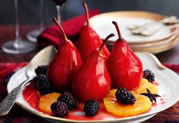 Slimming Worlds Spiced Pears Recipe