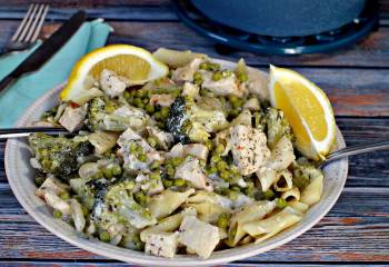 Healthy Creamy Lemon Chicken Pasta &Ndash; Ww Friendly!