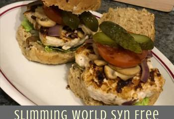 Slimming World Syn Free Turkey Burgers