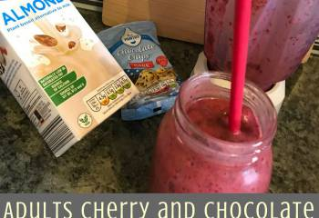 Adults Cherry And Chocolate Smoothie (Dairy Free)