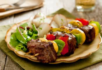 Syn Free Spicy Beef Kebabs | Slimming World Recipe