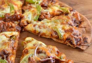 Low Syn Pulled Pork Pizza