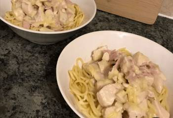 Slimming World Syn Free Chicken Spaghetti Carbonara