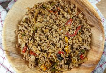 Pork Dirty Rice Recipe | Slimming Friendly