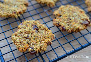 Healthy Extra Carrot Cake Flapjack Cookies