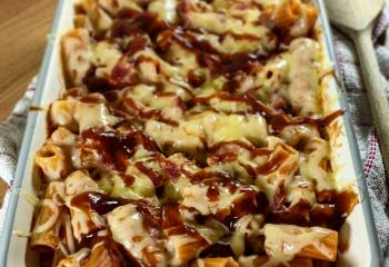 Bbq Bacon Pasta Bake | Healthy & Slimming Recipe