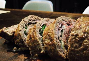 Syn Free Cheese & Ham Stuffed Meatloaf