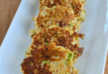 Cauliflower And Spring Onion Fritters