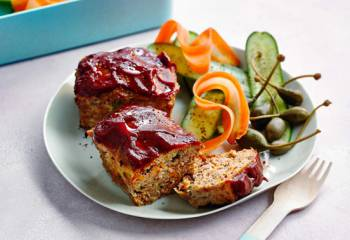 Mini Meatloaves With Tomato Glaze