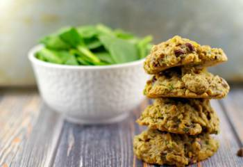 Award-Winning Healthy Chocolate Chip Spinach Cookies
