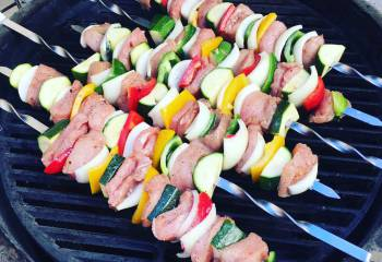 Salt And Pepper Kebabs