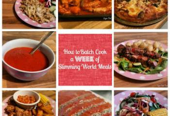7 Days Of Slimming World Friendly Freezer Meals | Slimming World