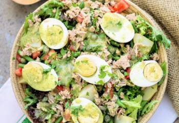 Slimming World Syn Free Nicoise Salad With Fine Herb Vinaigrette French Dressing