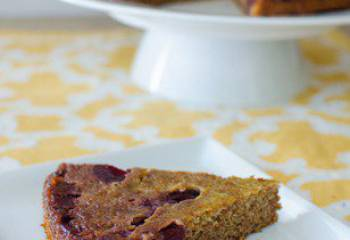 Upside Down Cherry Scan Bran Cake