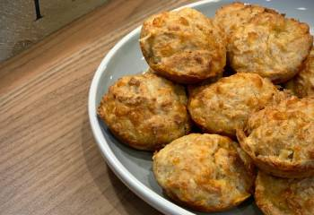 2 Syn Cheese Muffins | Slimming World Recipe
