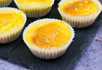 1.5 Syn Orange Drizzle Cupcakes