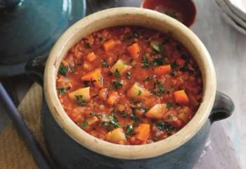 Slimming Worlds Tomato, Lentil And Vegetable Soup