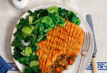 Slimming World Cottage Pie With Root Veg Topping