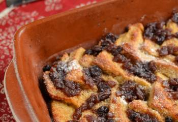 Christmas Mince Pie Bread Pudding