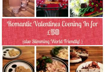 Romantic Valentines Evening For Under &Pound;50!