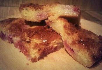Strawberry & Tequila Rose Blondies