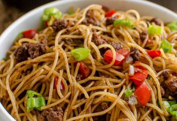 Syn Free Chilli Beef Noodles | Slimming World
