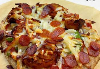 Dominos Fakeaway Pepperoni Passion Pizza | Slimming World & Weight Watchers Friendly
