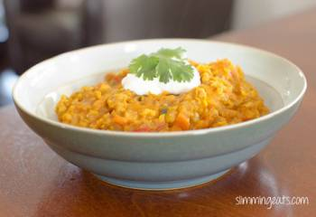 Lentil, Wheat Berry And Vegetable Curry