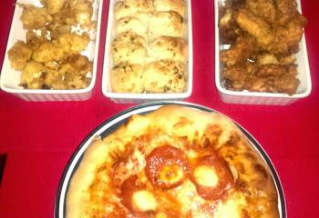 Recipe: Home-Made Takeaway Pizza Feast!