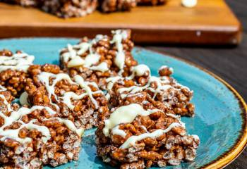 Chocolate Rice Crispy Bites