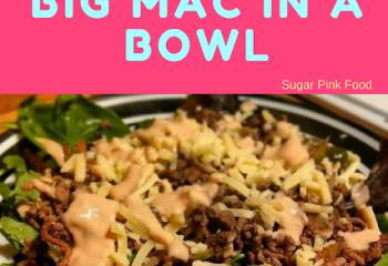 Big Mac In A Bowl | Slimming World