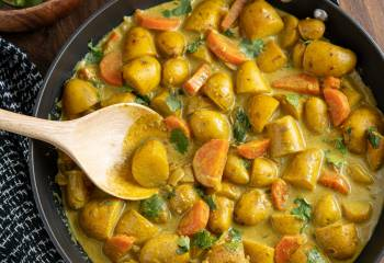 Creamy Coconut Potato Curry