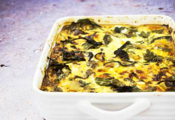 Roasted Vegetable Crustless Quiche Traybake