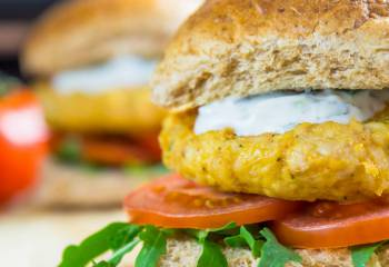 Tikka Turkey Burgers