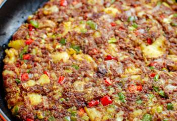 Low Syn Corned Beef Hash