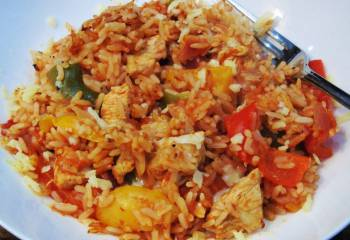 (8) Syn Free One Pot Cajun Chicken & Rice