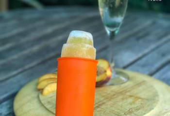 Low Syn Bellini Popsicles