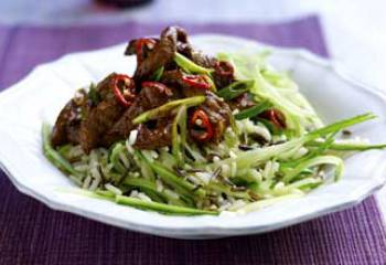 Slimming Worlds Spiced Thai Beef Salad With Wild Rice Recipe
