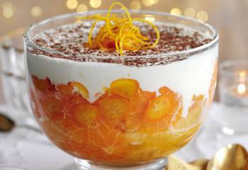 Slimming Worlds Whisky Orange Trifle Recipe