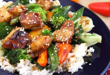 Sw Recipe: Sesame And Chilli Stir-Fry