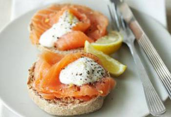 Slimming Worlds Muffins With Smoked Salmon Recipe
