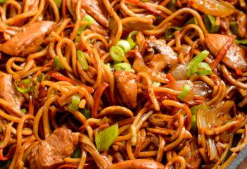 Low Syn Ginger Chicken With Mushrooms And Noodles