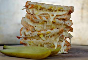 Weight Watchers Turkey Reuben Panini