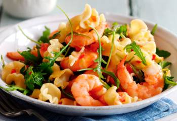 Slimming Worlds Pasta With Prawns, Chilli And Tomatoes Recipe