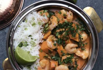 King Prawn And Sweet Potato Curry