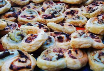 Low Syn Puff Pastry Pesto Swirls