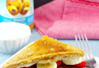 Pb&J Pancake Breakfast Sandwich Recipe