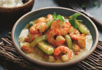 Slimming World Chiang Mai Prawn And Courgette Curry Recipe